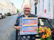Postcode-Glück in Düsseldorf: 1 Million Euro für 60 Gewinner