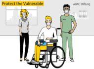 """ADAC Stiftung unterstützt Corona-Hilfsprojekt """"Protect the Vulnerable"""" / ADAC Stiftung fördert Anschaffung und Verteilung von Mund-Nasen-Schutzmasken für Menschen mit Querschnittlähmung"""