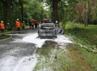 POL-NI: Vermutlich technischer Defekt führt zum Ausbrennen eines Pkw