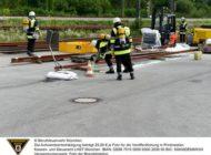 FW-M: Auslaufende Batteriesäure gefährdet die Umwelt (Pasing)