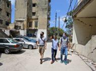 """Explosion Beirut: Wer etwas reparieren kann, bleibt in der Stadt / Bündnisorganisationen von """"Aktion Deutschland Hilft"""" versorgen Obdachlose und unterstützen Reparaturen"""