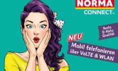 """NORMA-Connect Telefontarif bekommt kostenloses """"Voice over LTE""""- und """"WLAN-Call""""-Upgrade / Bessere Sprachqualität, schnellere Verbindung und weniger Akkuverbrauch"""