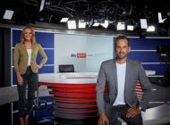 Modernste Technik, flexibler Aufbau und neues Design - Das neue Studio von Sky Sport News geht on air