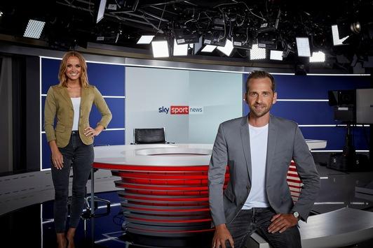 Modernste Technik, flexibler Aufbau und neues Design – Das neue Studio von Sky Sport News geht on air