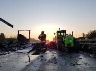 THW Bayern: LKW-Brand erfordert Einsatz der Ortsverbände Schwabach und Roth