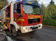 FW Grevenbroich: Unwetter über Grevenbroich - Über 220 Meldungen bescherten der Feuerwehr Grevenbroich reichlich Arbeit