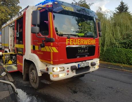 FW Grevenbroich: Unwetter über Grevenbroich – Über 220 Meldungen bescherten der Feuerwehr Grevenbroich reichlich Arbeit