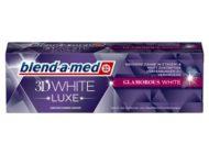 Stiftung Warentest vergibt beste Note aller Zeiten für eine Zahncreme an die blend-a-med 3DWhite Luxe Glamorous White Zahncreme