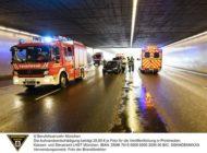 FW-M: Auffahrunfall auf dem Mittleren Ring (Schwabing)