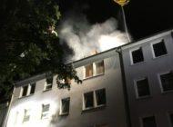 FW-GE: Dachstuhlbrand in Gelsenkirchen Ückendorf verursacht hohen Sachschaden