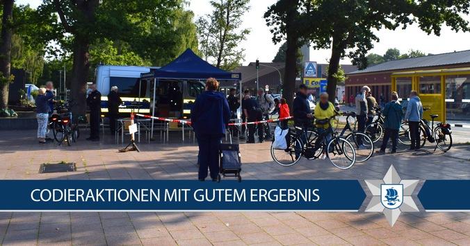 POL-Bremerhaven: Fahrradcodieraktion 2020 abgeschlossen
