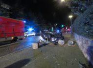 FW-Heiligenhaus: Fahrzeug überschlagen - eine Person verletzt. (Meldung 24/2020)