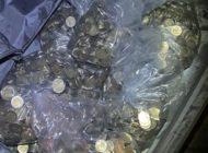 HZA-B: Zoll findet bei Kontrolle rund 24.000 Ein- und Zwei-Euro-Münzen /Barmittel wurden nicht angezeigt