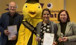"""""""Goldene Spatzen"""" für KiKA / Moderatorin Clarissa Corrêa da Silva, """"Triff..."""" und """"Fritzi"""" in Erfurt prämiert"""
