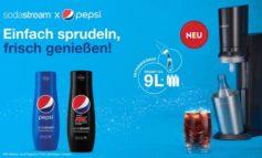 SodaStream unterstützt PepsiCo-Sirups mit groß angelegter 360°-Kampagne - / neuer TV-Spot verspricht Spaß und Genuss!