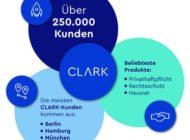 Wachstumsstarkes Jahr für CLARK: Über 250.000 Kunden nutzen den digitalen Versicherungsmanager