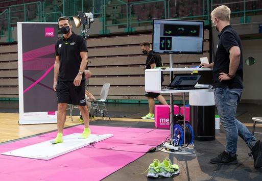100 Prozent Spielfokus dank innovativer medi Produkte / Einkleidung Basketballer medi bayreuth