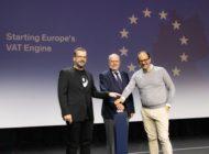 Peer Steinbrück startet EU-Mehrwertsteuermaschine