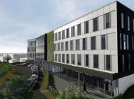 Nicht bloß ein Mauerblümchen: Die Grünfassade am Neubau von Drees & Sommer